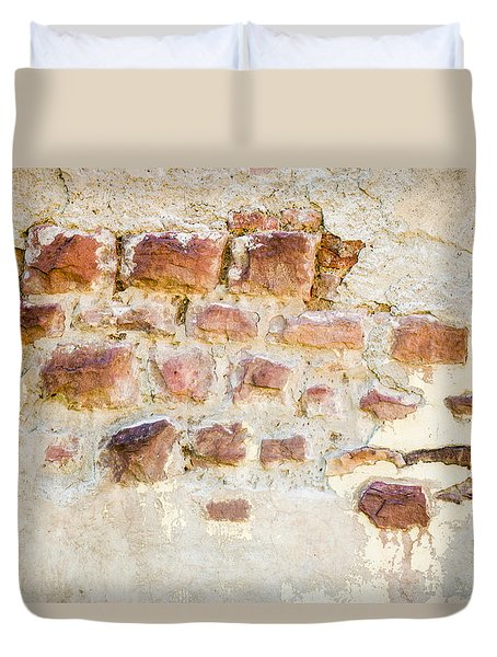 Bricks And Mortar Duvet Cover