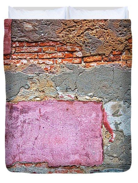 Bricks And Stones Duvet Cover