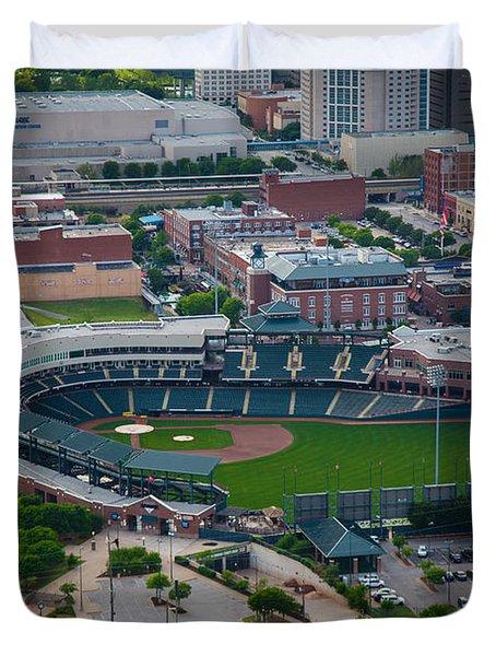 Bricktown Ballpark D Duvet Cover
