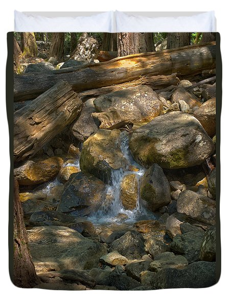 Bridalveil Creek I Duvet Cover