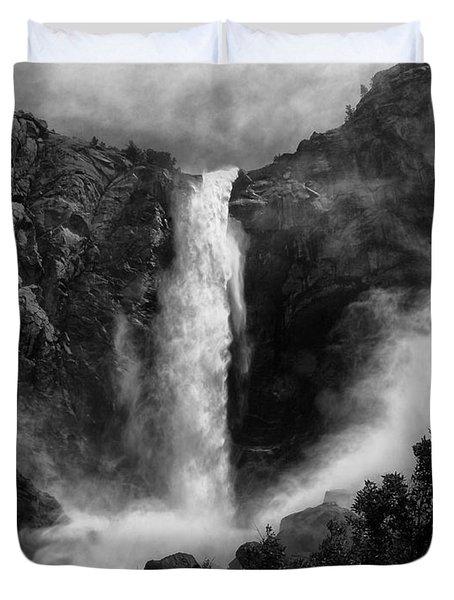Bridalveil Falls Duvet Cover by Cat Connor