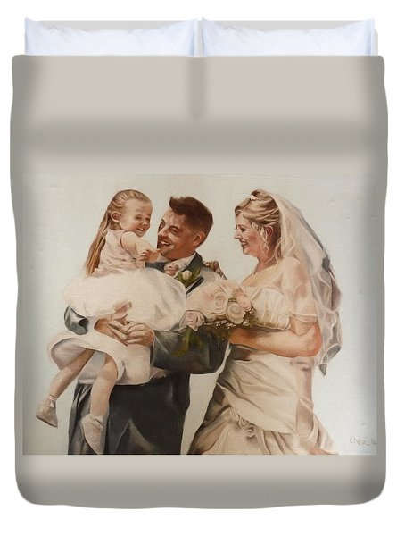 Bride And Joy Duvet Cover