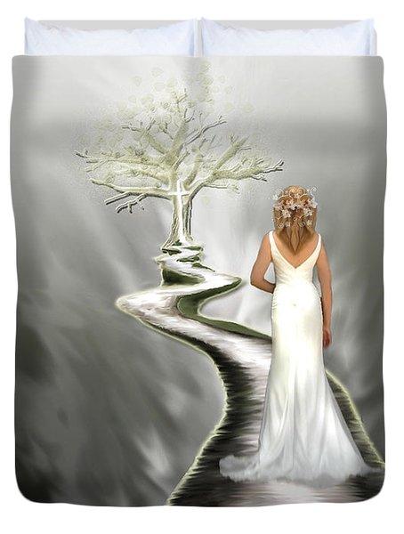 Bride Of Christ Duvet Cover