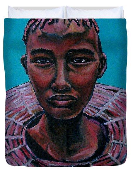 Bride - Portrait African Duvet Cover