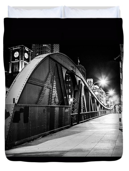 Bridge Arches Duvet Cover by Melinda Ledsome