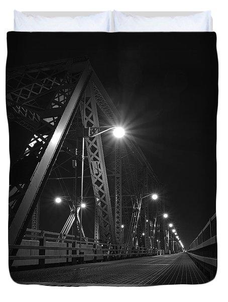 Bridge Night Duvet Cover