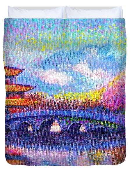 Bridge Of Dreams Duvet Cover