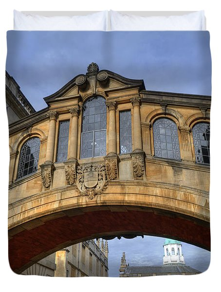 Bridge Of Sighs Duvet Cover