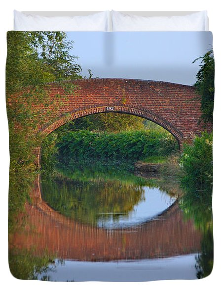 Bridge Over The Canal Duvet Cover