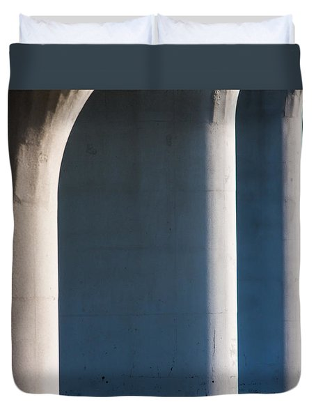 Bridge Patterns 1 Duvet Cover
