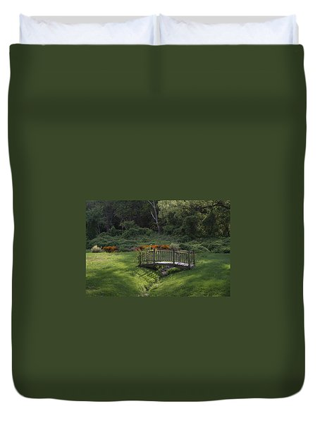 Bridge To Tranquility  Duvet Cover
