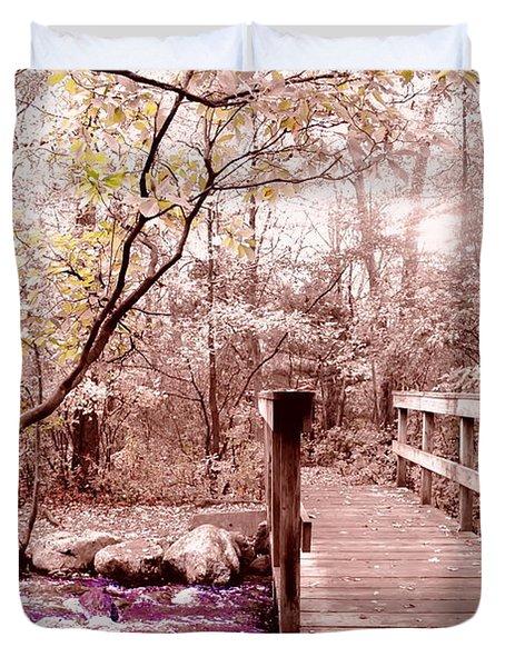 Bridge To Utopia  Duvet Cover