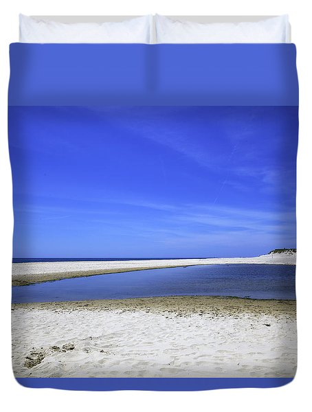 Bridgehampton Sky Duvet Cover