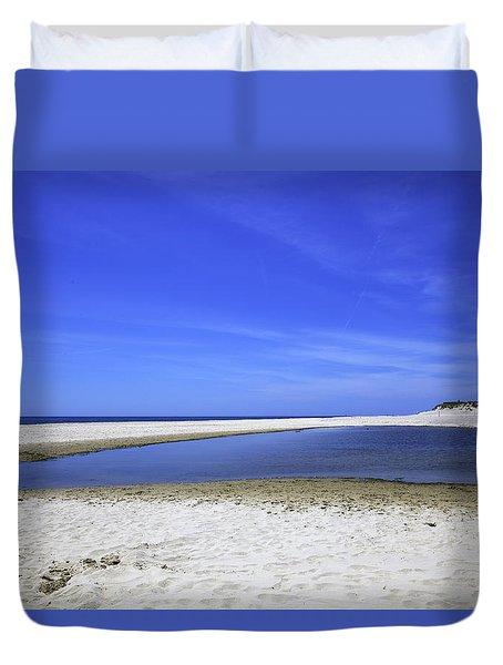 Bridgehampton Sky Duvet Cover by Madeline Ellis