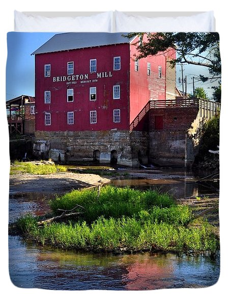 Bridgeton Mill 2 Duvet Cover by Marty Koch