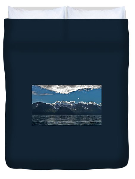 Duvet Cover featuring the photograph Bright And Cloudy by Aimee L Maher Photography and Art Visit ALMGallerydotcom