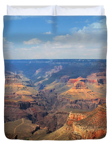 Bright Angel Trail Grand Canyon National Park Duvet Cover