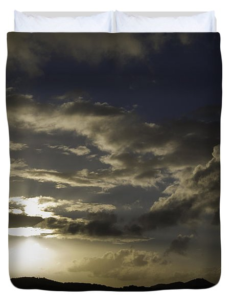 Bright Horizon Duvet Cover