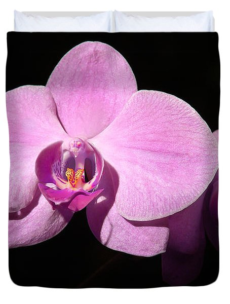 Bright Orchid Duvet Cover