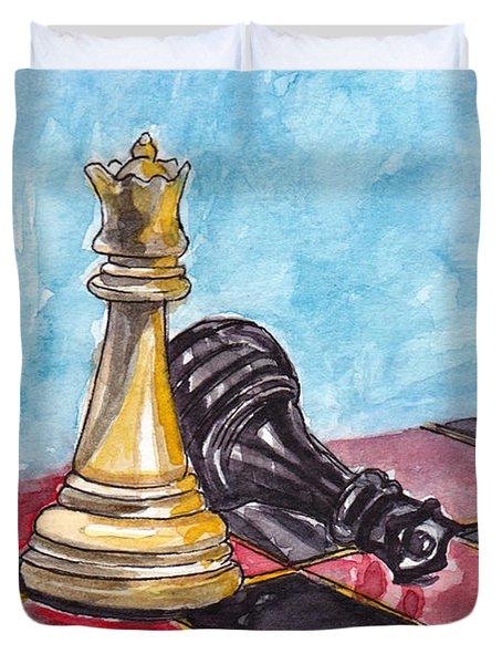 Bright Queen Duvet Cover by Julie Maas
