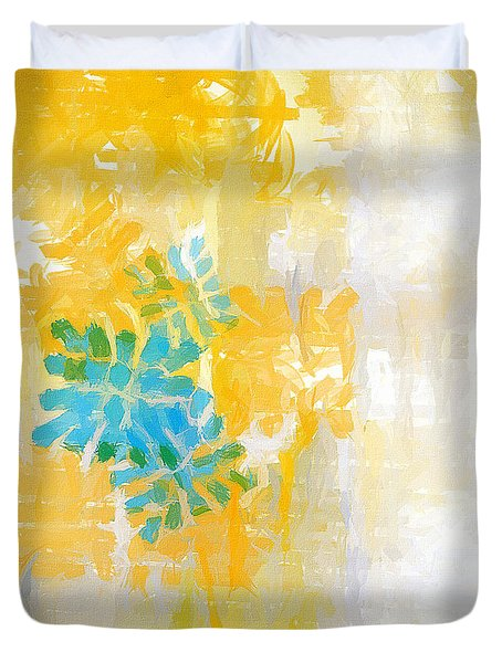 Bright Summer Duvet Cover by Lourry Legarde