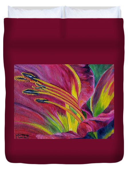 Brilliance Within Duvet Cover