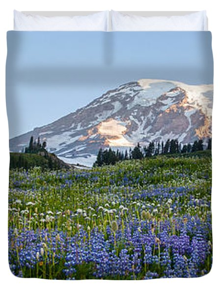 Brilliant Meadow Duvet Cover by Mike Reid