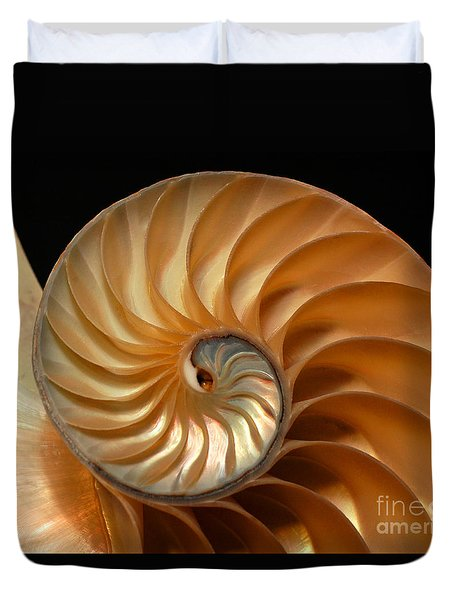 Brilliant Nautilus Duvet Cover