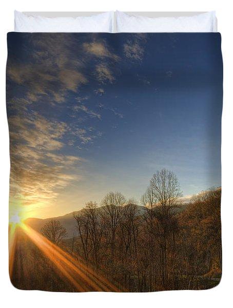Brilliant Rays Duvet Cover