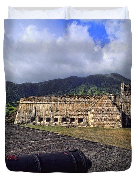 Brimstone Hill Fortress, Us Virgin Duvet Cover