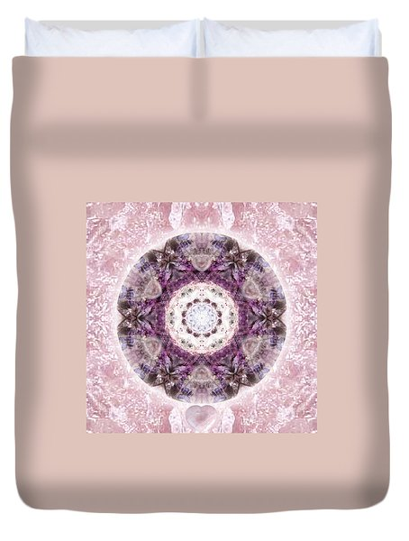Bringing Light Duvet Cover