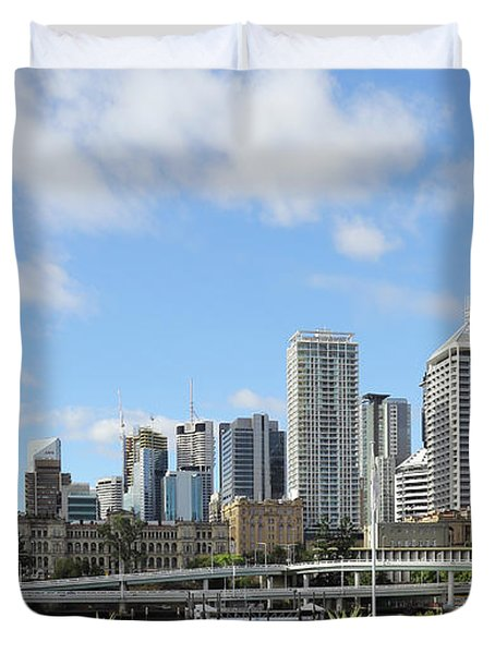Brisbane City Duvet Cover