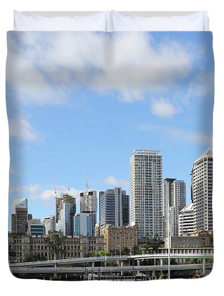 Brisbane City Duvet Cover