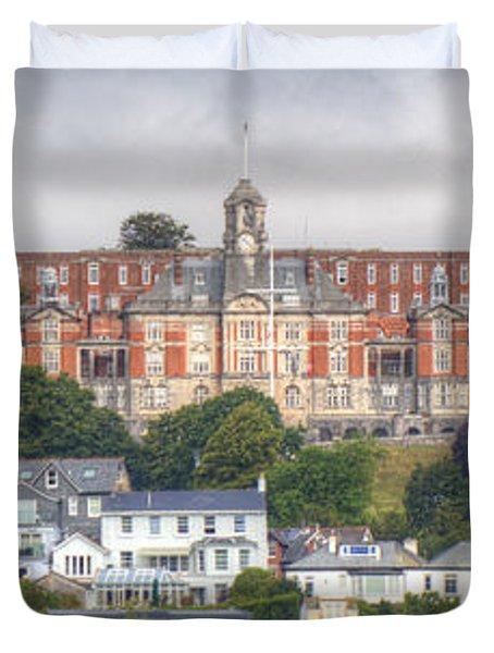 Britannia Royal Naval College Duvet Cover
