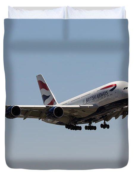 British Airways A380 Duvet Cover
