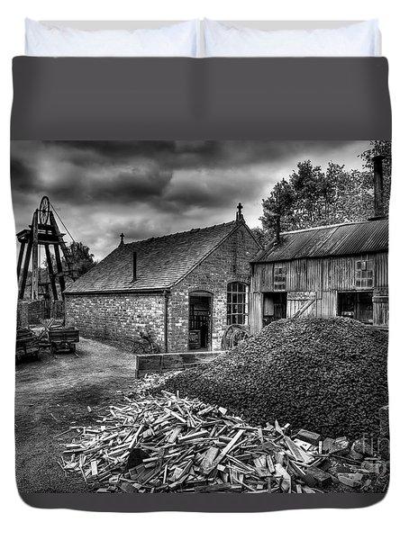 British Mine Duvet Cover by Adrian Evans