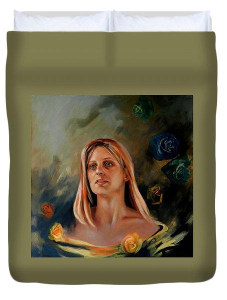 Britt Duvet Cover by Jolante Hesse