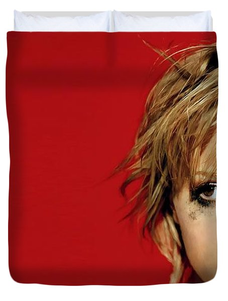 Brittany Murphy Tribute Duvet Cover