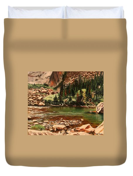 Broadwater Pond Duvet Cover