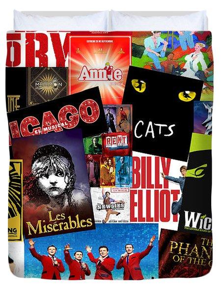 Broadway 1 Duvet Cover