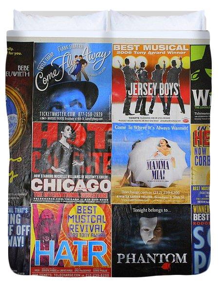 Broadway's Favorites Duvet Cover