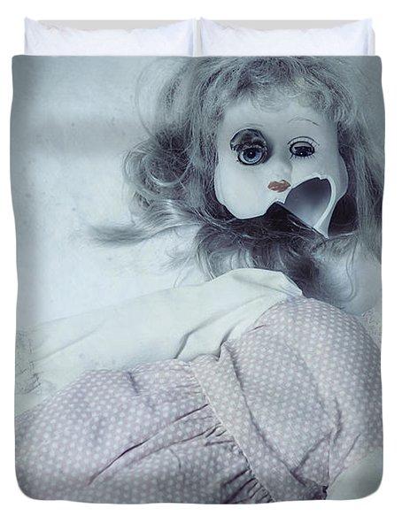 Broken Doll Duvet Cover by Joana Kruse