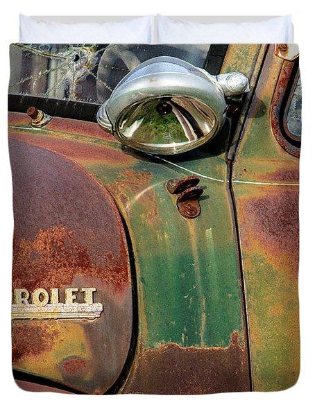Duvet Cover featuring the photograph Broken Dreams by Steven Bateson