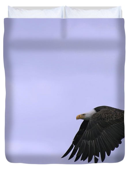 Broken Feather Eagle Duvet Cover by Kym Backland