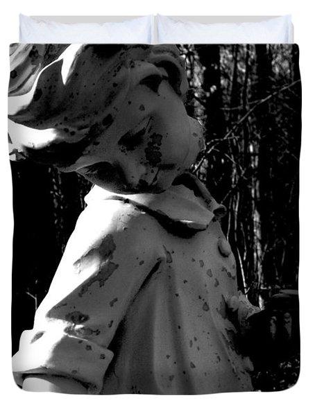 Broken Memorial Duvet Cover by Kristie  Bonnewell