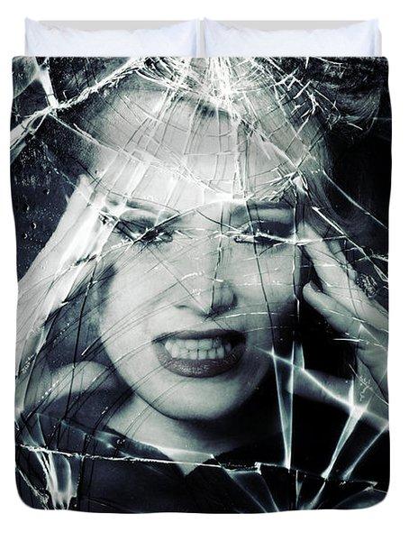 Broken Window Duvet Cover by Joana Kruse