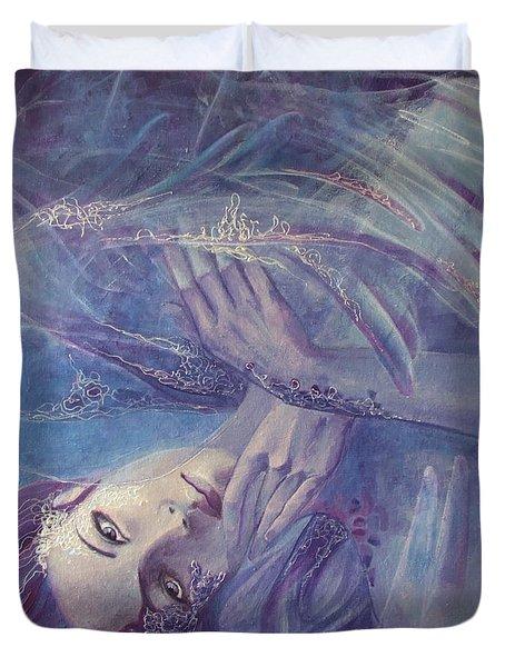 Broken Wings Duvet Cover by Dorina  Costras