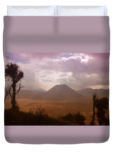 Bromo Duvet Cover