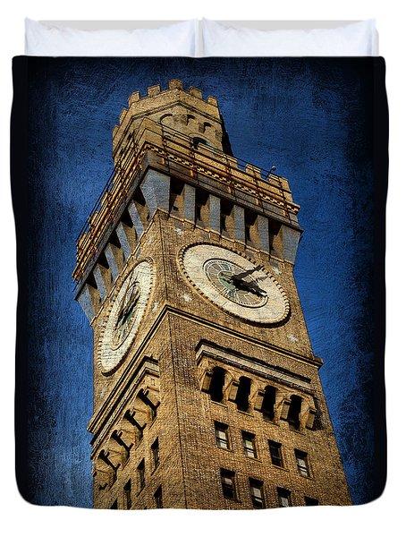 Bromo Seltzer Tower No 3 Duvet Cover