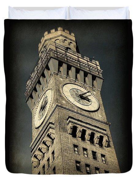 Bromo Seltzer Tower No 7 Duvet Cover
